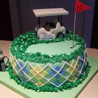 60Th Bday Cake For A Not So Successful Golfer Who Also Fishes 60th bday cake for a not so successful golfer who also fishes!