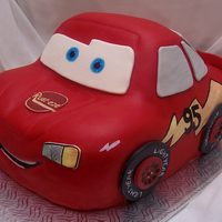 Flash Mcqueen I had fun decorating this cake, but it was more difficult than i thought. Thanks for watching!
