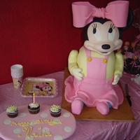 Baby Minnie Mouse Cake