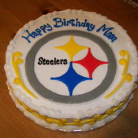 Steelers Birthday Cake