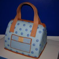 Dooney And Bourke Diaper Bag I ran out of time to do the extra details I wanted to do for this cake, but the bag itself turned out well overall I think. It's also...