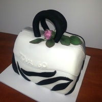 This Cake Was Made For A Friend Who Celebrated 60 This cake was made for a friend who celebrated 60.