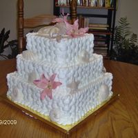 Beach Themed Wedding Cake 2009