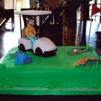 Golf Cake This was a cake that I made for a lady that was celebrating her 95th birthday! She was an avid golfer in her day. She was so excited when...