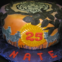 No Lions, Yes Tigers And Zebras, No Bears. Oh My!! The request was for a tiger and zebra birthday motif for a friend who I owed a favor. After a weekend where I had cranked out 6 cakes,...