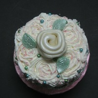 Rose Swirl Mini Rose Swirl Mini Cake. I have tried out this technique on a larger cake and wanted to know how it would translate into a mini. I liked the...