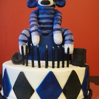 Sock Monkey, Argyle Cake