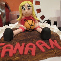 Girls Basketball, Lady Panther Cake