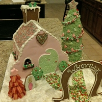 Whoville Gingerbread House Whoville Gingerbread house for a local competition