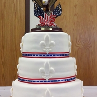 Eagle Scout Cake   Made this for my son's Eagle Scout Ceremony this past Saturday.