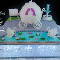 Cinderella Carriage Cake Cinderella Carriage Cake, everything is edible.