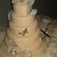 My First Wedding Cake!