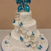 Moms Wedding Cake