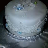 Small Cake To Be Cut By Bride And Groom Small cake to be cut by bride and groom