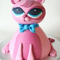 Lps Cake For My Niece LPS cake for my niece