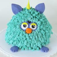 Furby Cake For My Now 12 Year Old Furby cake for my now 12 year old!