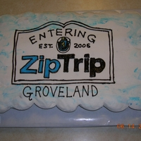Zip Trip To Groveland, Ma This is a 37 cupcake cake. Our local news station Fox 25 featured my hometown this week. I made this cupcake cake for it and it was...