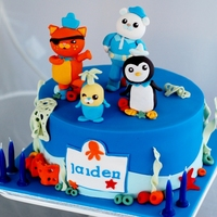 Octonauts Cake My first Octonauts cake!