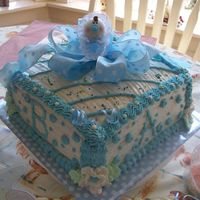 Sweet Baby Block Cake! Thanks to all those of you who inspire me with my cakes....I pulled this off....