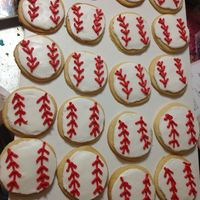 Baseball Cookies For My 3 Boys Baseball Teams Baseball cookies for my 3 boys' baseball teams