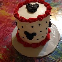 Mickey Mouse Smash Cake Mickey Mouse Smash Cake