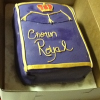 Crown Royal Cake Or My Hubby 9X13 Inch Cake   Crown Royal cake or my hubby. 9x13 inch cake