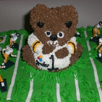 Steelers Cupcakes Hand painted players, CCC