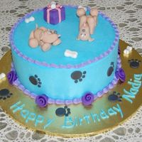 Another Dog Lovers Cake Here's a cake I made for a friend who just LOVES her dog. Thank you to Aine2 for her help with the dogs. I'd never done any form...