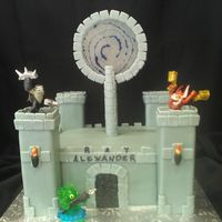 Skylanders Castle With Candy Portal Skylanders castle with candy portal