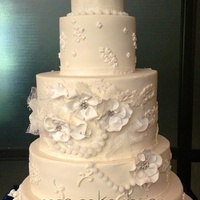 Latest Work   Wedding cake!
