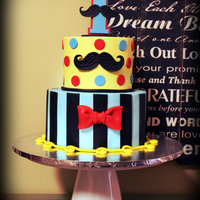 Mustache Themed Birthday My first mustache themed cake! Fun, fun, fun!