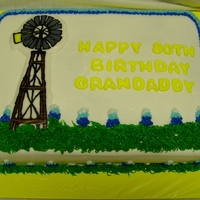 Windmill Cake Butter cream