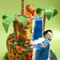 Jungle Birthday One of my most labor intensive designs ever! But so worth the end results!!