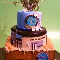 City Of Villa Park's 50Th It was a honor to be asked to make a cake for such a monumental anniversary! The cake represents the history of the city's past,...