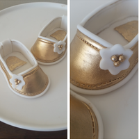 Gold Baby Shoes Gold baby shoes