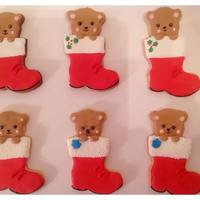 Sugar Cookies Iced In Royal Icing Made For My Grandsons School Christmas Party The Tutorial For This Cookie Is By Paula From Dear Sweet C Sugar cookies iced in royal icing. Made for my grandson's school christmas party. The tutorial for this cookie is by Paula from Dear...