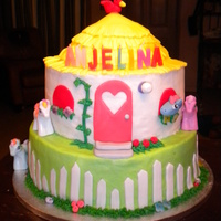 Pony House   My little pony's house in buttercream