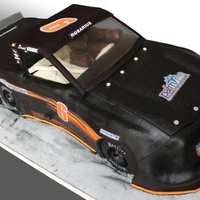 Racing Truck Replica For 6Th Birthday Cake