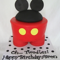 Mickey Mouse Pants Cake