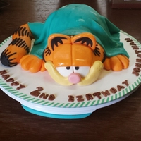 Lazy Garfield   He is to cute to eat
