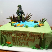 Duck Dynasty Cake Duck Dynasty cake for a little girl