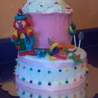 Gymbo The Clown Cake