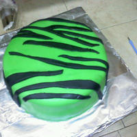 Zebra Birthday Cake   Red Velvet Cake With mmf.