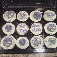 Pansy Cupcakes I had to try FBCTs on cupcakes! These were made for my mom's birthday. She loves pansies, and she has instilled that love in me. I...