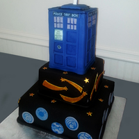 Dr Who Grooms Cake   Dr. Who Grooms cake