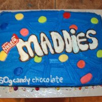 Smartie's Birthday Cake For Maddie. :)
