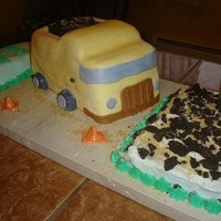 Dumptruck Cake Fully edible.
