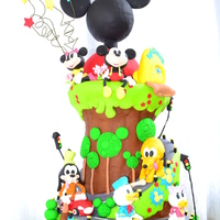 Topsy Turvy Mickey Mouse Clubhouse
