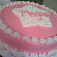 Niece's Birthday Very simple cake I did for my niece's birthday in a hurry!