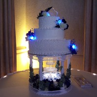 Led Cake Wedding Cake - LED lights - Fountain